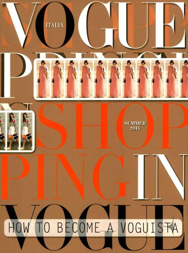 Vogue ITA - Shopping Manual 2014-2-1 Cover