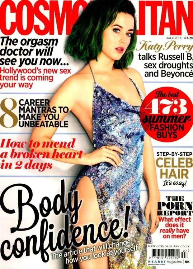 Cosmopolitan UK 2014-7-1 Cover