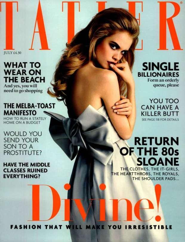 Tatler UK 2014-7-1 Cover